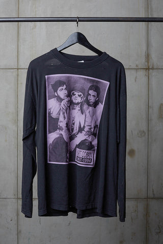 KURT COBAIN REST IN PEACE LONGSLEEVE TRIBUTE TEE