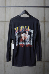 NIRVANA 1990'S I HATE MYSELF LONGSLEEVE TEE