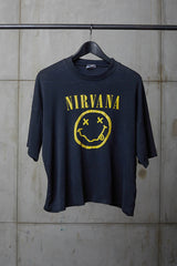 NIRVANA BOOTLEG I HATE MYSELF PROMO TEE CROP TEE