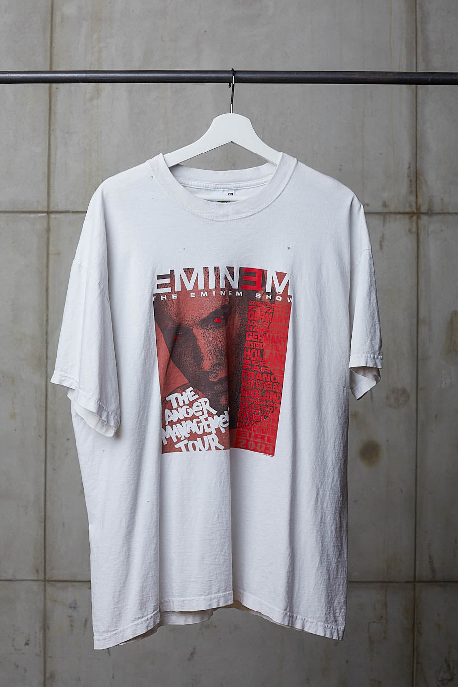 EMINEM 2003 ANGER MANAGEMENT TOUR TEE