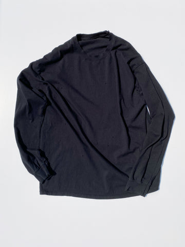 ALMOST BLACK STANDARD LS TEE
