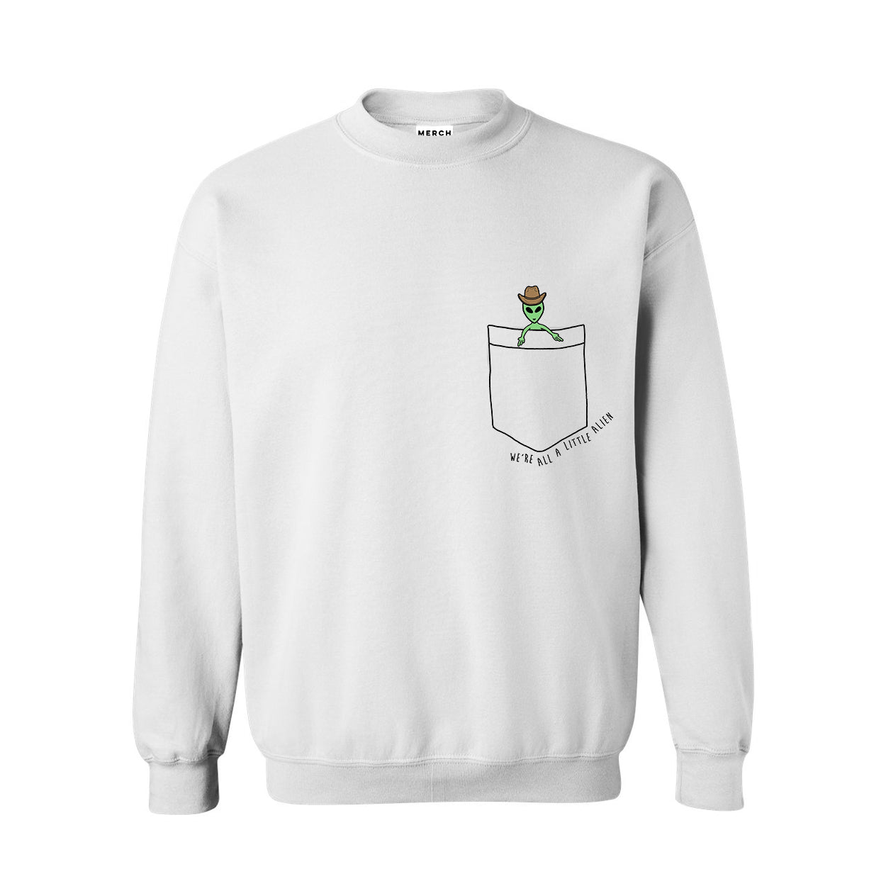 A LITTLE COWBOY CREWNECK SWEATSHIRT