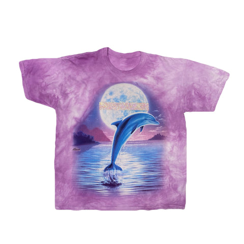 OVER THE MOON DOLPHIN TEE