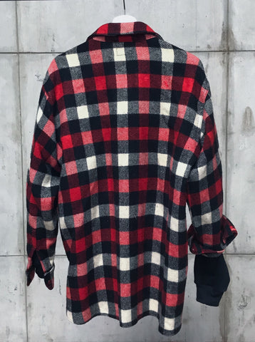 1960's SMALL CHECK WOOLRICH FLANNEL