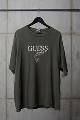 GUESS JEANS 1990'S OLIVE GREY TEE