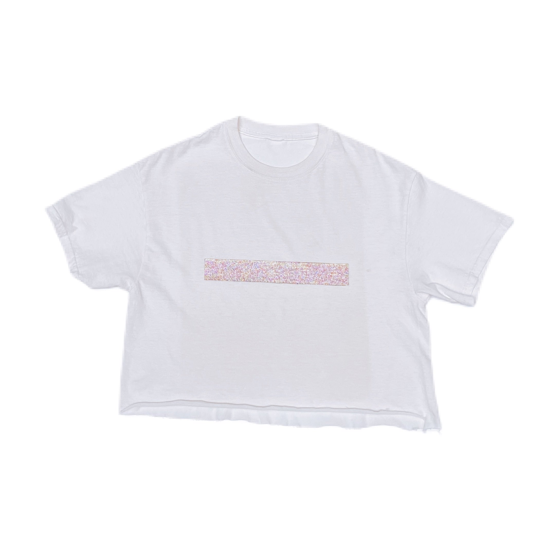 THE DIDDY CROP WHITE