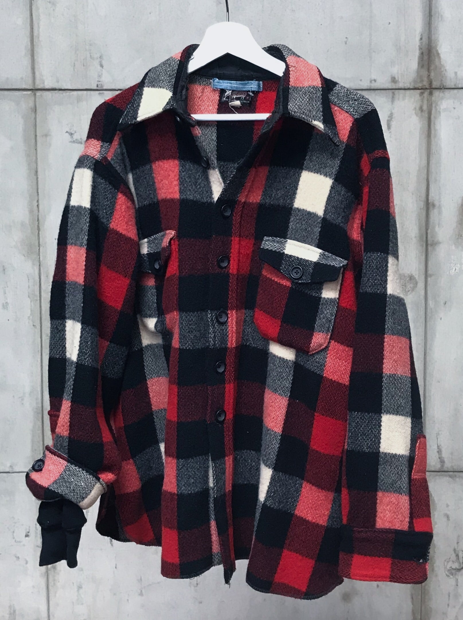 1960's CHUNKY CHECK WOOLRICH FLANNEL