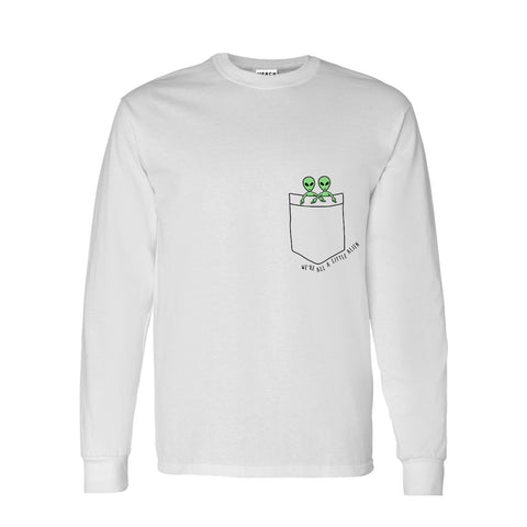 A LITTLE ALIEN LOVE LONG SLEEVE