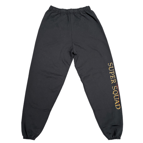 SUPER SQUAD SWEAT PANT BLACK