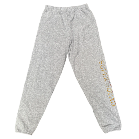 SUPER SQUAD SWEAT PANT GREY