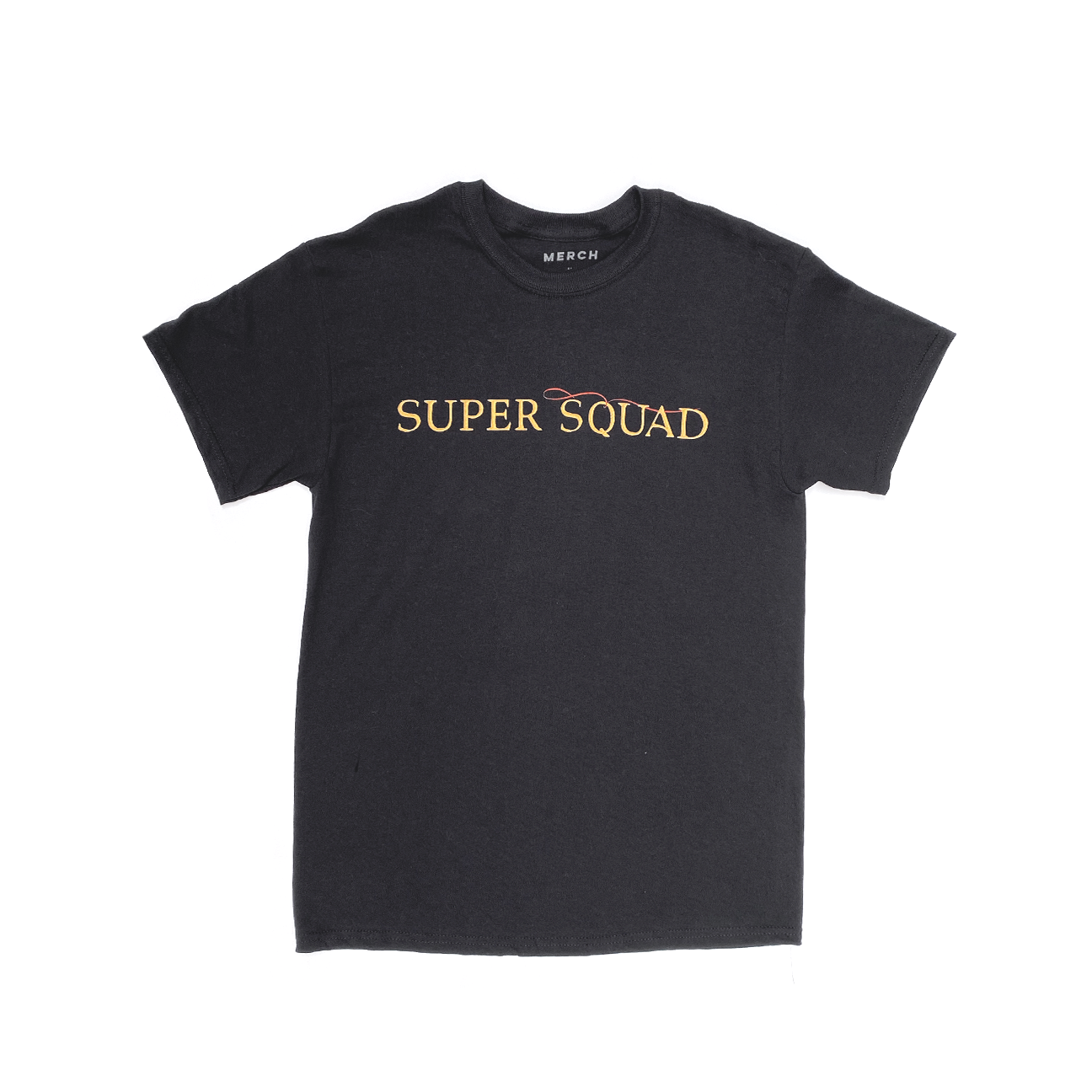SUPER SQUAD TEE BLACK