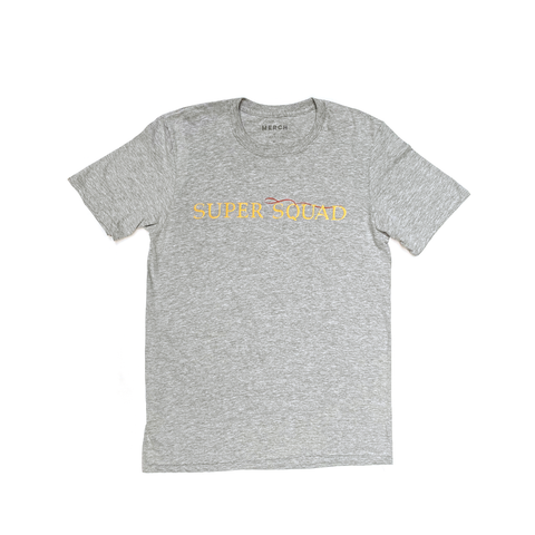 SUPER SQUAD TEE GREY