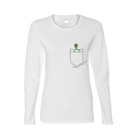A LITTLE COWBOY LONG SLEEVE WOMENS