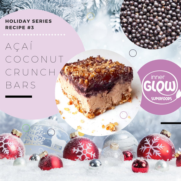 Açaí Coconut Crunch Bars