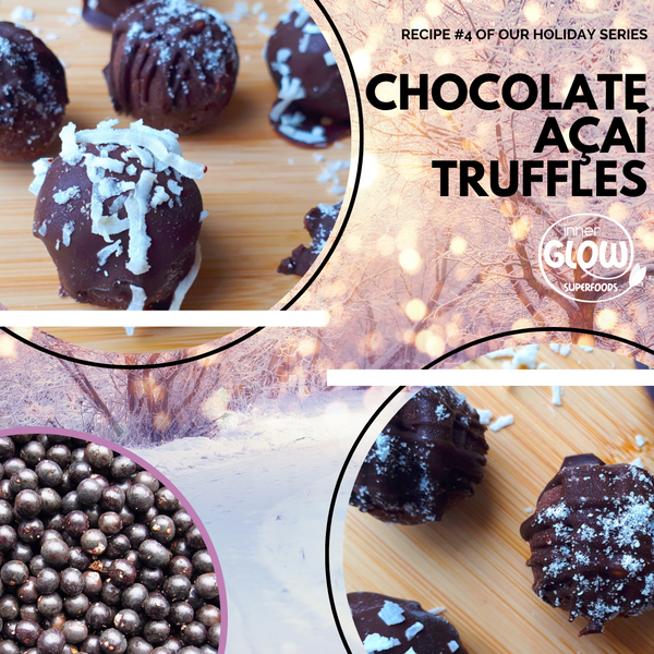 Chocolate Açaí Truffles