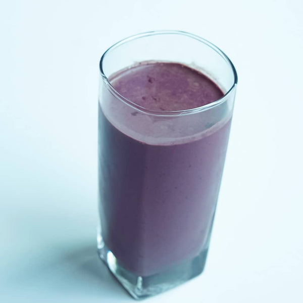 Low Carb Acai Blueberry Smoothie