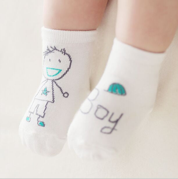 The Cutest Little Toddler Baby Girl and Boy Socks Choose Your Print