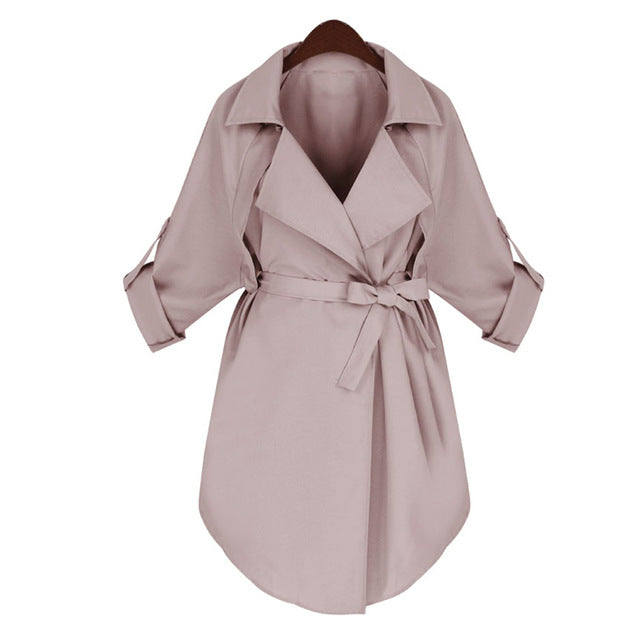 Women's Pink Long Sleeve Blazer Outerwear Jacket