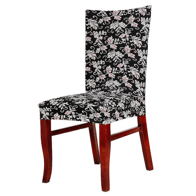 Multi Abstract Paisley Floral Universal Dining Chairs Cover Wedding Party Decor Room Seat Chair