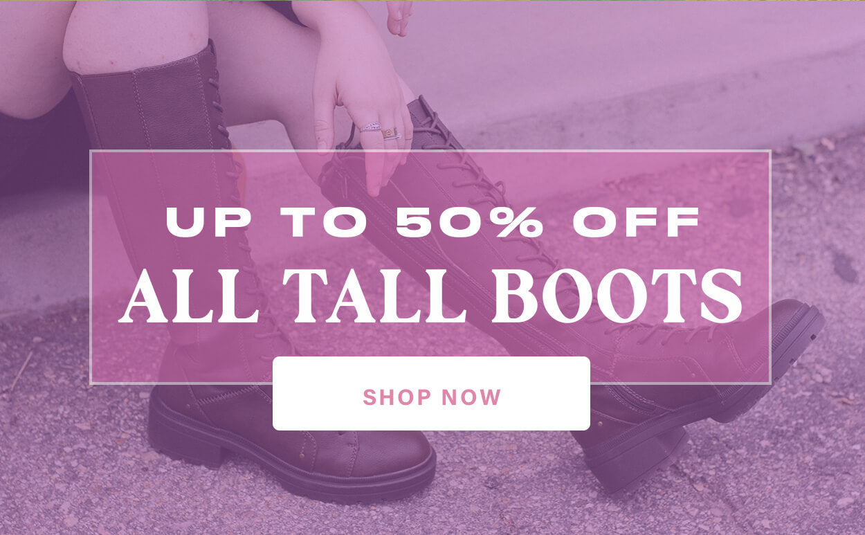 Rocket Dog Up to 50% Off All Tall Boots