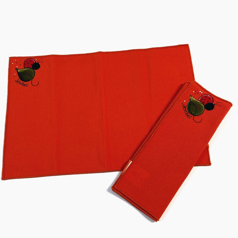 Serviette de table ORANGE...