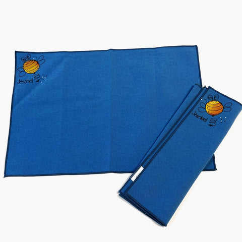 Serviette de table BLEU ABEILLE...