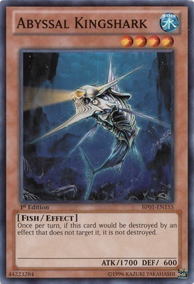 Abyssal Kingshark - TAEV-EN084 Secret Rare Unlimited