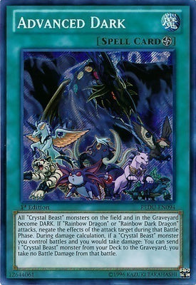 Advanced Dark - REDU-EN094 Secret Rare 1st
