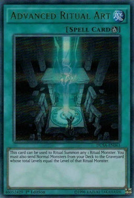 Advanced Ritual Art - PGL2-EN050 Gold Rare 1st