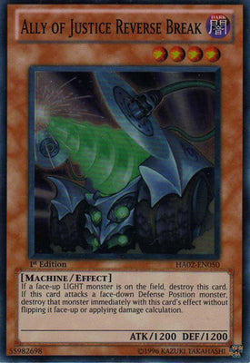 Ally of Justice Reverse Break - HA02-EN050 SR 1st