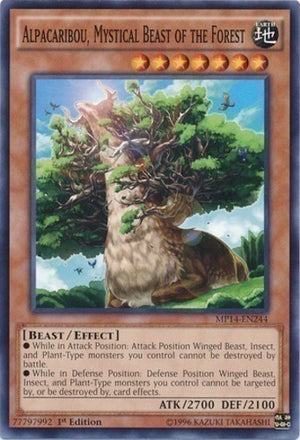 Alpacaribou, Mystical Beast of the Forest - LVAL-EN095 C Unlimited