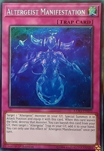 Altergeist Manifestation - MP18-EN216 SR 1st