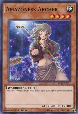 Amazoness Archer - GLD3-EN003 C Limited Edition