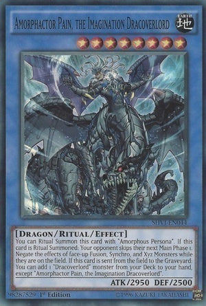 Amorphactor Pain, the Imagination Dracoverlord - SHVI-EN044 SR Unlimited