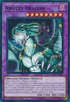Amulet Dragon - DRLG-EN003 Secret Rare 1st