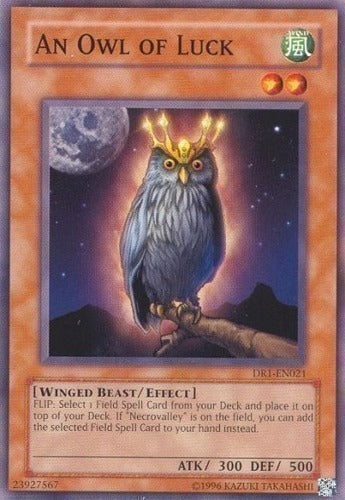 An Owl of Luck - DR1-EN021 C Unlimited