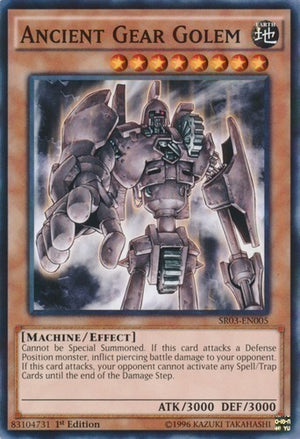 Ancient Gear Golem - SD10-EN012 C Unlimited