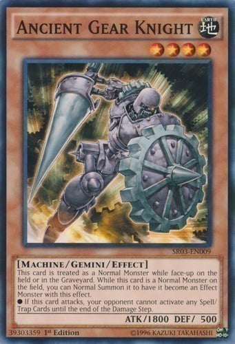 Ancient Gear Knight - SR03-EN009 C Unlimited