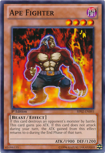 Ape Fighter - BP01-EN169 Starfoil Rare Unlimited