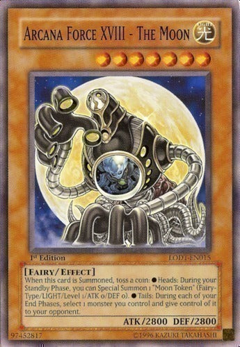 Arcana Force XVIII - The Moon - LODT-EN015 C Unlimited