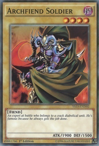 Archfiend Soldier - YS15-END02 Unlimited