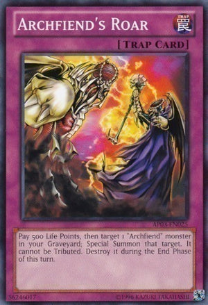 Archfiend's Roar - DCR-099 C Unlimited