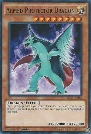 Armed Protector Dragon - SR02-EN013 C 1st