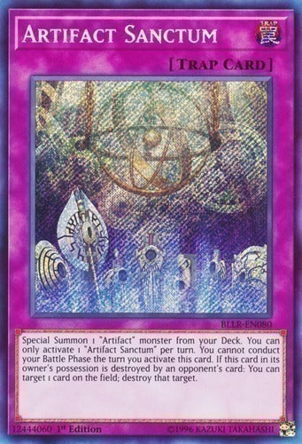 Artifact Sanctum - BLLR-EN080 Secret Rare 1st
