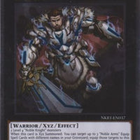 Artorigus, King of the Noble Knights - NKRT-EN037 Platinum Rare Unlimited