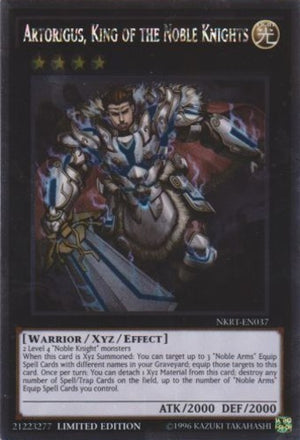 Artorigus, King of the Noble Knights - CBLZ-EN086 Ulti Unlimited