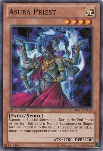 Asura Priest - BP01-EN125 Starfoil Rare Unlimited