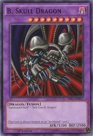 B. Skull Dragon - LCJW-EN054 R Unlimited