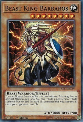 Beast King Barbaros - BP02-EN080 Mosaic Rare Unlimited