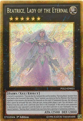 Beatrice, Lady of the Eternal - PGL3-EN021 Gold Secret Rare 1st